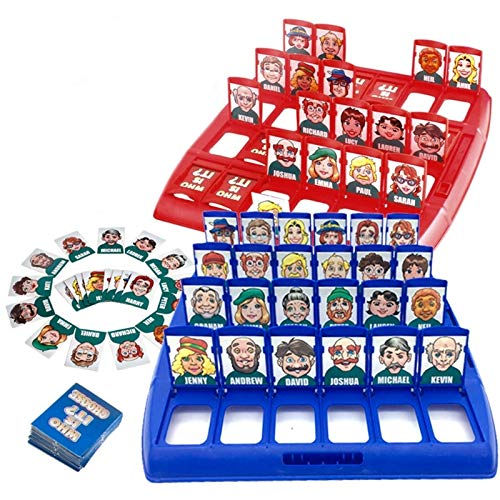 Dorime ¿Quién es el clásico Juego de Mesa Divertidos Juegos de adivinanzas de la Familia de los niños Los niños de Juguete de Regalo Se