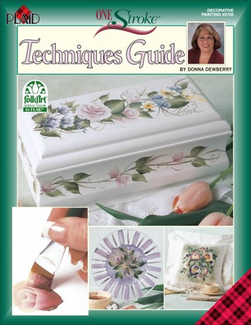 One Stroke Technique Book, 9706 Decorative Painting