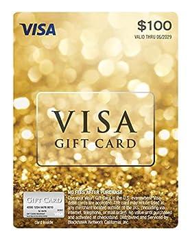 $100 Visa Gift Card  plus $5.95 Purchase Fee