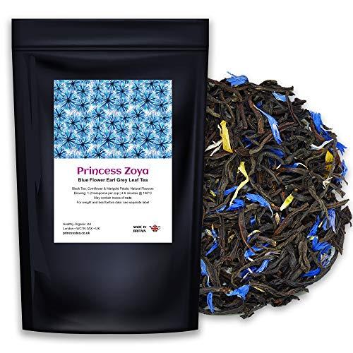 Earl Grey Blue Flower Bergamot Leaf Tea, 200g (100+ Cups), PRINCESS ZOYA,...