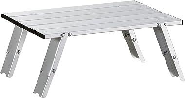 Uquip Handy - Table Basse Pliante en Aluminium – Réglable en 2 Hauteurs (11 /16 cm)