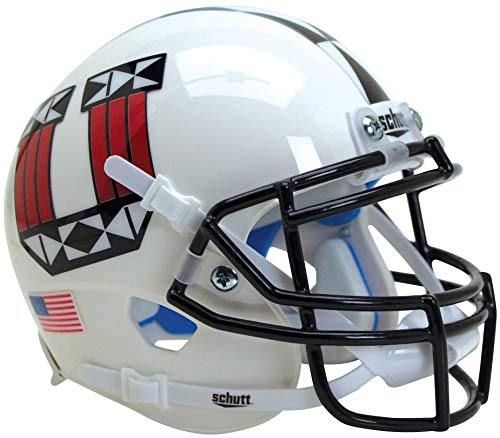 Schutt NCAA Utah Utes Replica XP Football Helmet Fußballhelm, ALT 17, OSFA