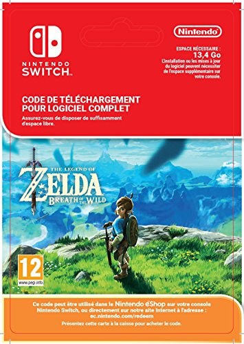The Legend of Zelda: Breath of the Wild [Nintendo Switch - Version digitale/code] [Code jeu à télécharger]