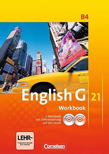 English G 21 - Ausgabe B / Band 4: 8. Schuljahr - Workbook mit Audio-Materialien