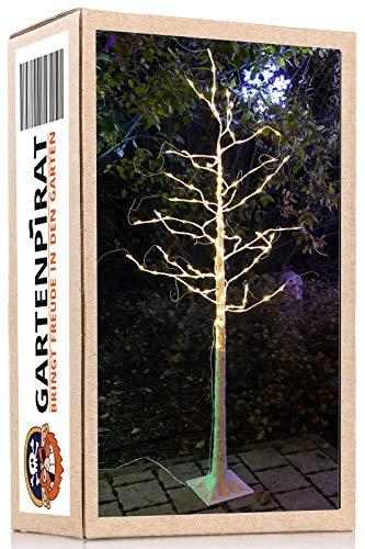 Gartenpirat árbol abedul 180 cm 160 micro LED blanco cálid