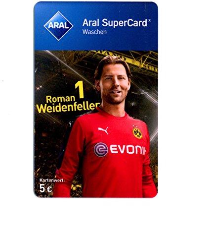 ARAL Supercard (Waschen) - diverse Motive - Guthabenkarte für Waschstraße - 5,-EUR Nennwert - Sammlerkarte