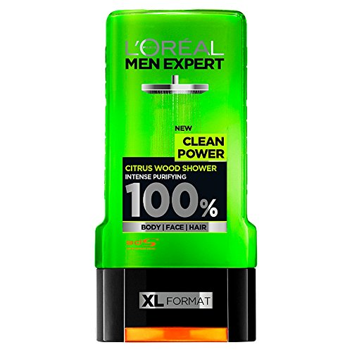 Men Expert Clean Power Gel de ducha, 300 ml