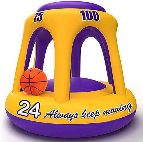 Zhiten, cerchio gonfiabile con palla, giochi per bambini, ragazzi e adulti
