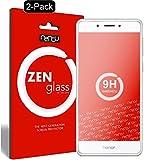 ZenGlass [2 Stück Flexible Glas-Folie kompatibel mit Huawei Honor 6C Panzerfolie I Bildschirm-Schutzfolie 9H I (Kleiner Als Das Gewölbte Bildschirm)