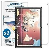 ebestStar - [Lote x2 Cristal Templado Compatible con Huawei MediaPad M5 Lite 10.1 Protector Pantalla, Película Vidrio Protectora Dureza 9H, Sin-Burbujas [M5 Lite 10.1: 243.4x162.2x7.7mm 10.1']