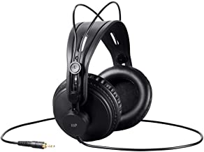 Monoprice Modern Retro Over Ear Headphones with Ultra-Comfortable Ear Pads Perfect for Mobile Devices, HiFi, and Audio/Video Production