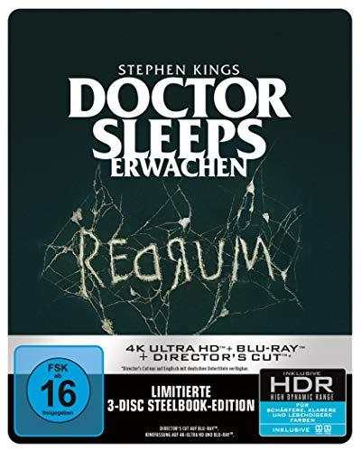 Stephen Kings Doctor Sleeps Erwachen 4K UHD+BD Steelbook [Blu-ray]