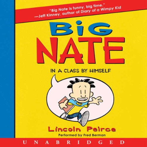 Big Nate audiobook cover art