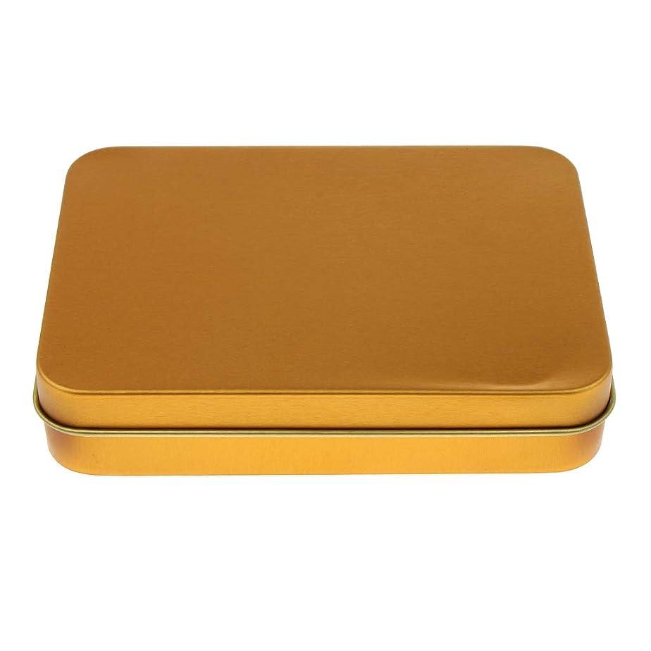フレキシブル例惑星FLAMEER 収納ケース 収納ボックス ストレージコンテナ 収納用品 便利性 キャンディー チョコレート用 - ゴールド