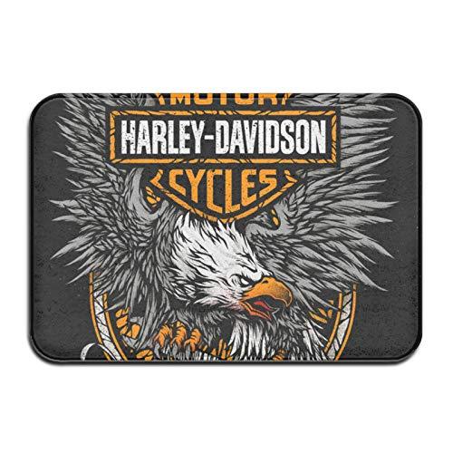 Custom made Harley Davidson - Felpudo antideslizante para exteriores