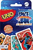 UNO Space Jam: A New Legacy Themed Card Game Featuring 112 Cards with Movie Graphics, Kid, Movie & Sports Fan Gift Ages 7 Years & Older.