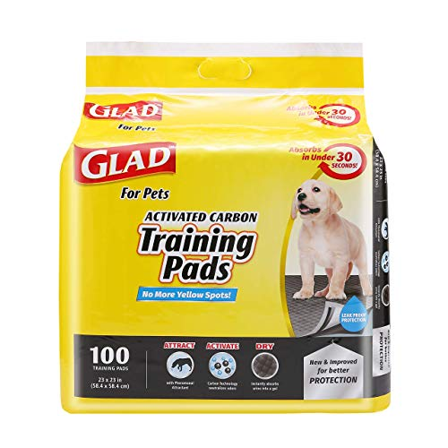 Black Charcoal Puppy Pads (100 Count)