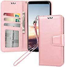 Asus ZenFone 5Q ZC600KL Case, Asus ZenFone 5 Lite ZC600KL Case,Suordii Flip Fold Wallet Leather Magnetic Protective Phone Case Cover for Asus ZenFone 5Q/ 5 Lite ZC600KL (6.0 inch) (Rose Gold)