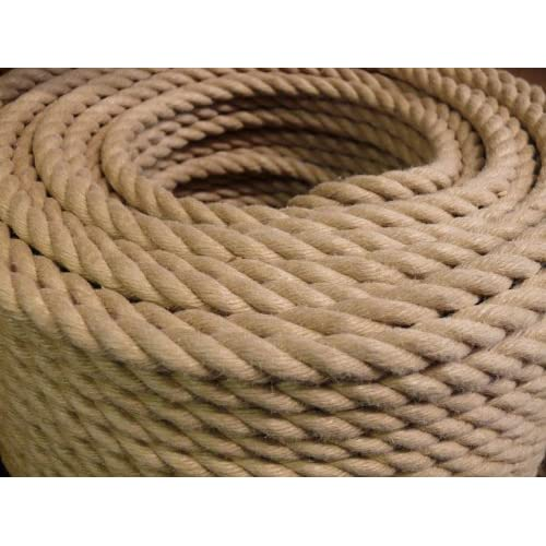 Westward Ropes® - Polyhemp - Synthetic Hemp Rope 6mm x 20 Metres