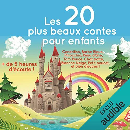 Page de couverture de Les 20 plus beaux contes pour enfants