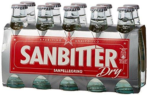 Sanbittèr weiss dry 10 x 100 ml. - Sanpellegrino Aperitif Sanbitter