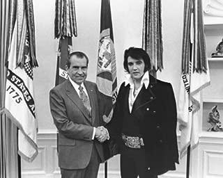 New 8x10 Photo: Elvis Presley & President Richard Nixon