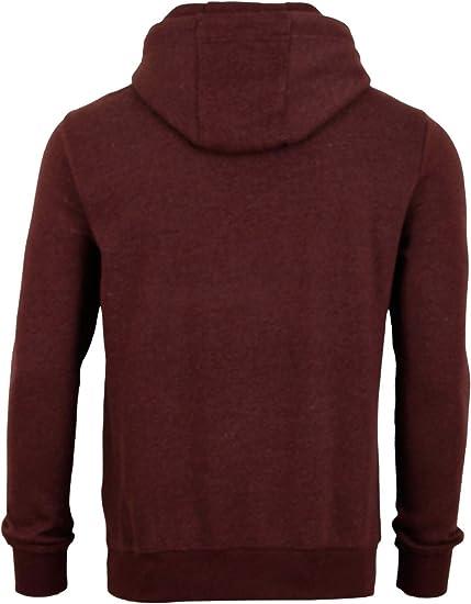 Sweat-Shirt Gris Vert Rouge Bleu Noir S M L XL 2XL 3XL 4XL 5XL Hoodie riverso Julian Pull /à Capuchon pour Homme avec Poche Kangourou et col crois/é en Coton