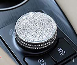 Speed knob In Silver Rhinestone Cover fit for Lexus
