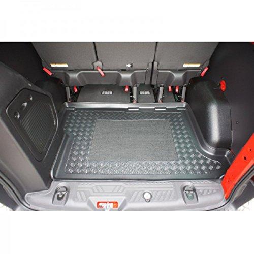 Kofferraumwanne - Kofferraumeinlage - Kofferraumschutz - Kofferraummatte, mit Anti-Rutsch-Fläche und Rand, Nr. 80009174