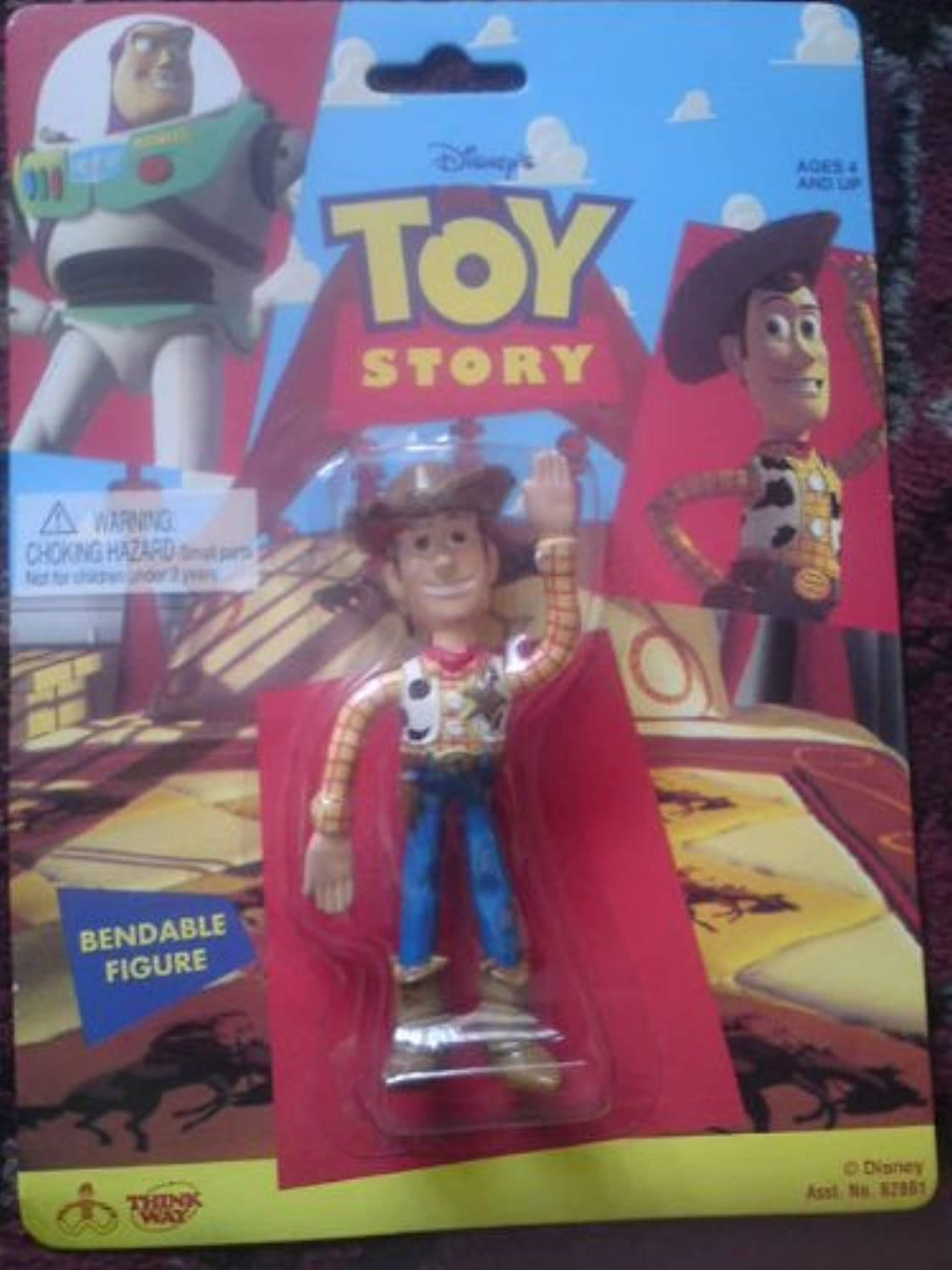 Original Toy Story Bendable Woody Figure by Think Wat