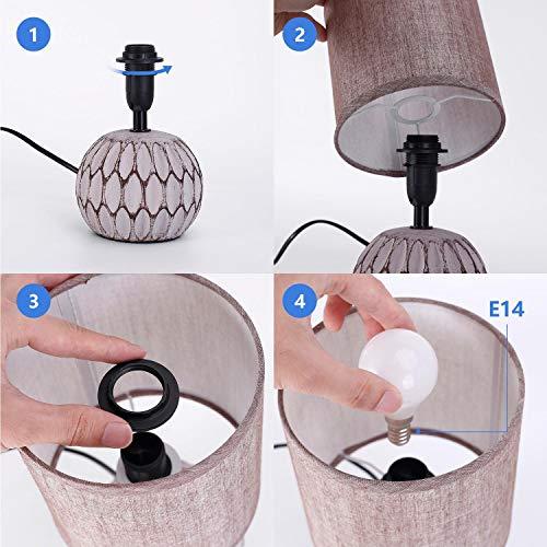 Aigostar Lámparas de mesa