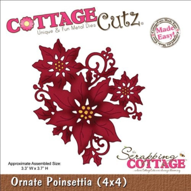 CottageCutz Die Cuts, Cuts, Cuts, 4 by 4-Inch, Ornate Poinsettia Made Easy by CottageCutz B01KB7K5VA       Hohe Qualität Und Geringen Overhead  7364c0