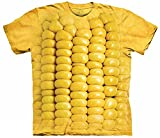 The Mountain Men's Corn on The Cob T-Shirt, Yellow, S
