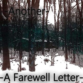 A Farewell Letter