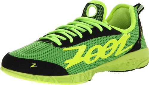 Zoot Men's Ultra Kiawe 2.0 Running Shoe,Green Flash/Safety Yellow/Black,9.5 M US