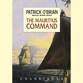 The Mauritius Command audiobook cover art