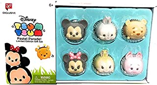 Disney Tsum Tsum Pastel Parade Exclusive Set of 6
