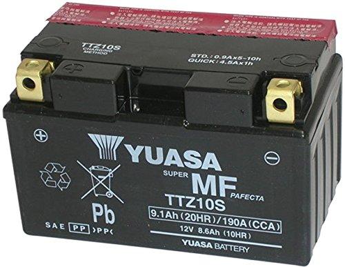 MIM Distribution BATTERIA YUASA TTZ10S-BS EX YTZ10S PER HONDA HORNET 600 ANNO 2007-2008-2009-2010