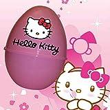 LIBROLANDIA Uovo di Pasqua in Plastica Tematico Bambine (Hello Kitty)