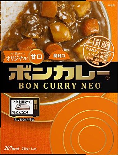 大塚食品 ボンカレーネオ コク深ソースオリジナル 甘口 230g