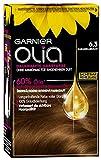 Garnier Olia Haar Coloration Karamellbraun 6.3 / Färbung für Haare enthält 60% Blumen-Öle für...