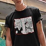 Shigaraki Tomura Work On Your Smile T-Shirt, My Hero Academia Shirt, Boku No Hero, Bnha, Villain, Glitch, Aesthetic Shirt, Manga Shirt