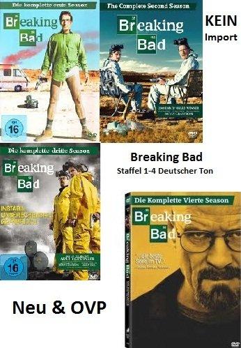Breaking Bad Staffel 1-4 Set