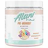 Alani Nu Pre-Workout Supplement Powder for Energy, Endurance, and Pump, Mimosa, 30 Servings (Packaging May Vary)