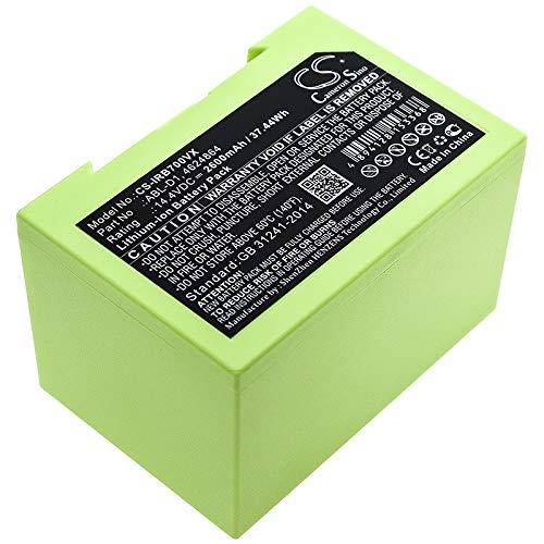 CS-IRB700VX Batterie 2600mAh Compatible avec [IROBOT] 7150, Roomba 5150, Roomba 7550, Roomba e5, Roomba e5150, Roomba e515020, Roomba e5152, Roomba e5154, Roomba e5158, Roomba e515840, Roomba e6, Roo