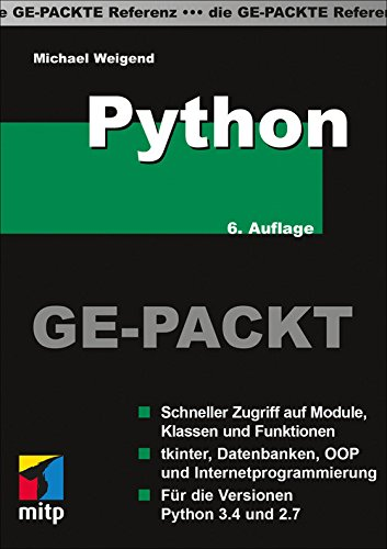 Python - Die Ge-Packte Referenz (mitp Ge-packt)
