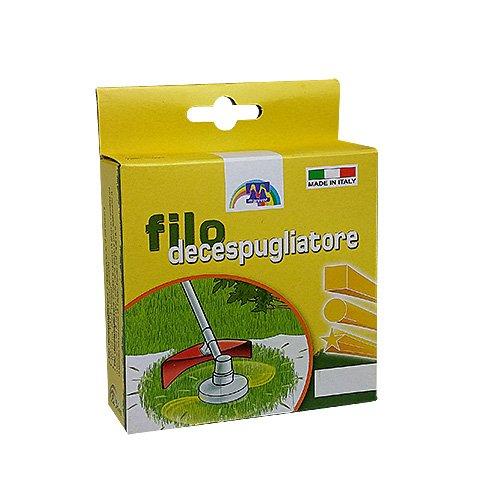 Maniver Filo per decespugliatore tondo, diametro 1.6 x 15 mt