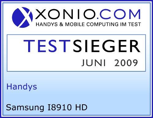 Samsung I8910 HD 8 GB Smartphone (8 MP-Kamera, AMOLED Touchscreen, WLAN, Navi) schwarz