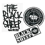 Mouton Noir Roues de skateboard 52mm 101A Lot de 4