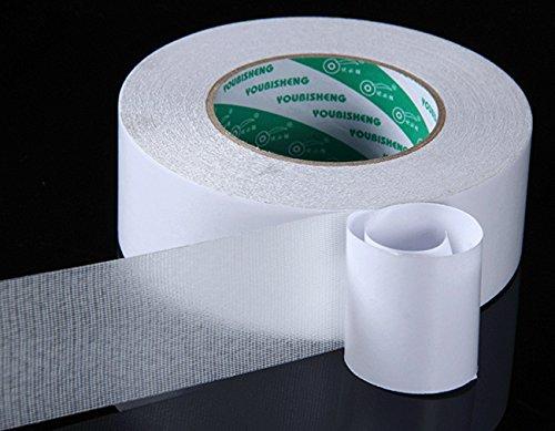 Teppichklebeband Doppelseitig,Teppich Antirutschbelag Universal 5cm*15m Extra Stark Doppelseitige Klebebänder für Teppich Matten Pads Läufer Funktioniert auf alle Boden
